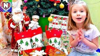 ПОДАРКИ НА НОВЫЙ ГОД 2018 Что Настюшик подарили на Новый Год Распаковка подарков на Новый Год ЛОЛ