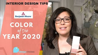 Interior Design Tips: Color Of The Year And Color Trends 2020 From Benjamin Moore!
