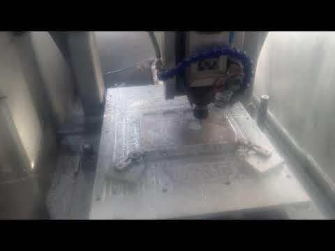 Rutech - Frezowanie CNC - 1 mm zagłębienia fi8, 16 m/min - zdjęcie