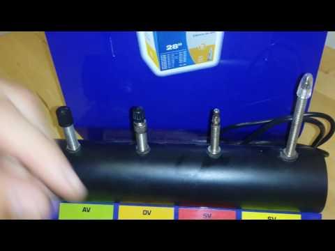 Fahrradventiladapter- wie sehen Adapter für Ventile am Fahrrad aus?