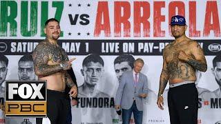Andy Ruiz Jr. vs. Chris Arreola   WEIGH-INS   PBC ON FOX