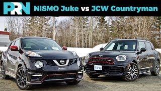 NISMO Juke vs John Cooper Works Countryman