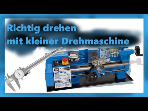 Drehen mit kleiner Drehmaschine / Anfertigung von Sonder-Schrauben