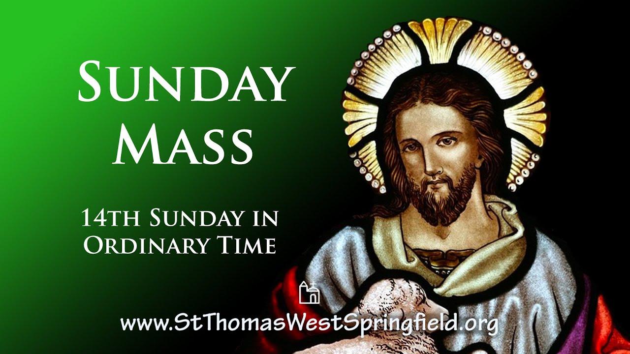 Catholic Sunday Mass 4th July 2021 Online Mass
