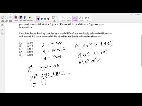 SOA Exam P Question 190 | Normal Distribution - YouTube