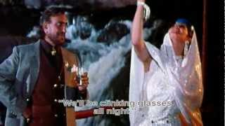 Raat Bhar Jaam Se (Eng Sub) [Full Video Song] (HD) With