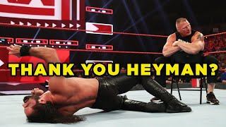 Why WWE Just Aired The Best Raw Of 2019