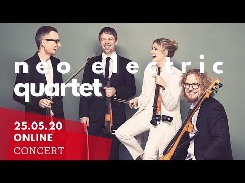 Online concert of Classical:NEXT 2020 Showcase Artist - Neo Electric Quartet