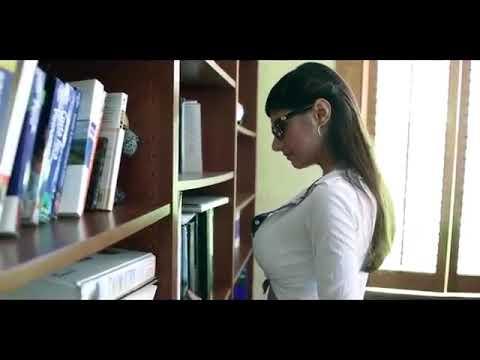 Mia Khalifa in library