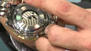 St. Leonhard Exklusive Herrenarmbanduhr mit Automatik-Uhrwerk