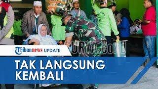 Rangkaian Ibadah Selesai, Jemaah Haji Kloter Pertama Debarkasi Surabaya Tiba