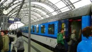 Prague to Dresden by train, Czech Rail