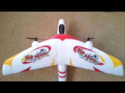 New top race rc airhawk plane review (amazing)!!!