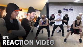 BTS - DANGER [ DANCE PRACTICE ] REACTION -- DIO & BBOYOMIT