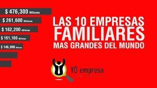 10 empresas familiares mas grandes del mundo
