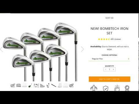Bombtech Golf Grenade Iron Review with Andrew Ainsworth