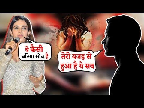 Nidhhi Agerwal ने घटिया सोच वाले लड़के को दिया मुंह तोड़ जवाब