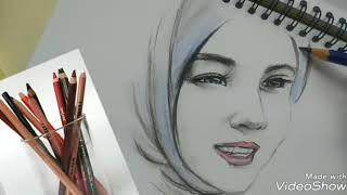 Cara Menggambar Wajah Orang Berhijab ฟรวดโอออนไลน ดทว