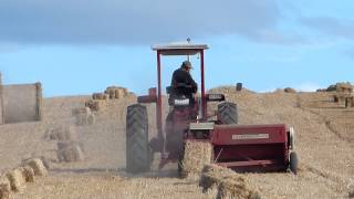 preview picture of video 'Harvest Hay Balage Southland HD'