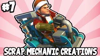 Scrap Mechanic CREATIONS! - WORLD'S GREATEST CAR! [#7] W/AshDubh | Gameplay |