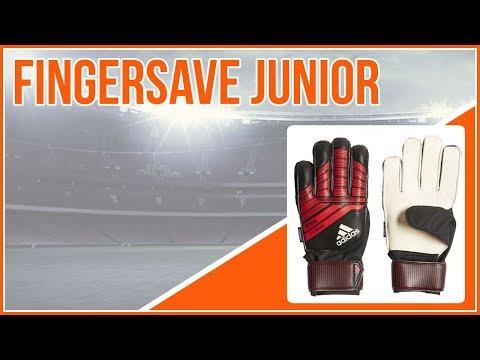 Torwarthandschuhe für Kinder die adidas Predator Fingersave Junior