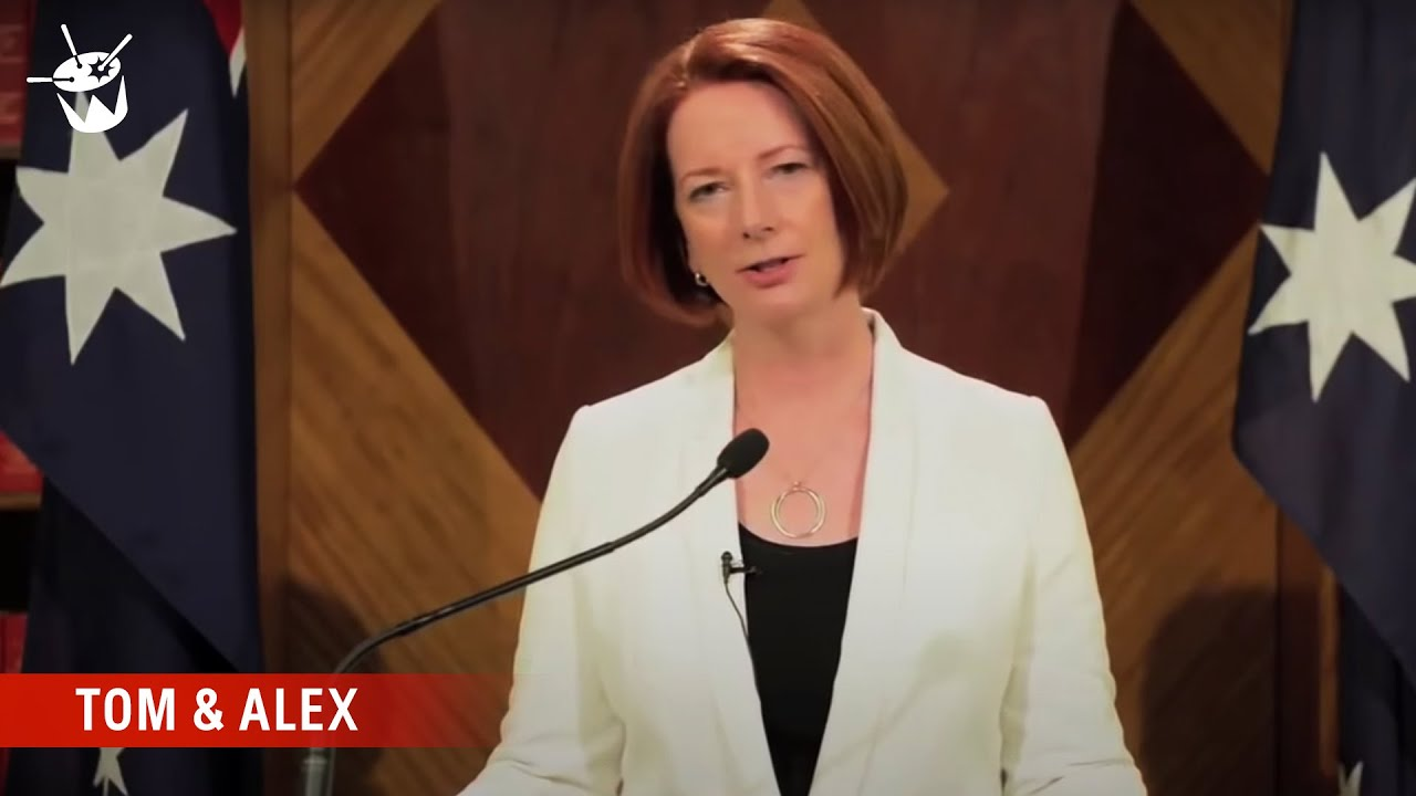 Watch Prime Minister Julia Gillard Announce The End Of The World