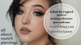 Nose Piercing 101: Process, Aftercare/Healing, Pros And Cons, What To Expect