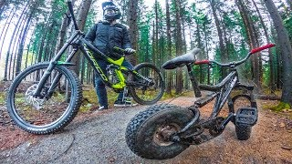 3000$ MTB VS 300$ MINI MTB BIKE - WHO