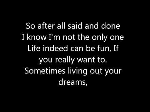 """Des'Ree """"Life"""" lyrics"""