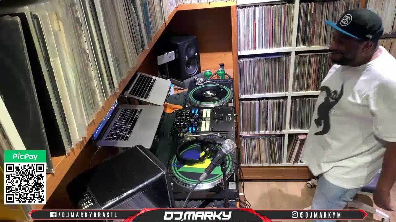 DJ Marky - Live @ Home x Playing My Favorite Suburban Base, Moving Shadow & Reinforced Records 2021