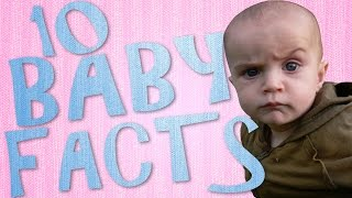 10 Cute Baby Facts   Fun Newborn Babies Fact Video   Infant Facts You Didn't Know
