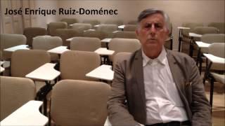 José Enrique Ruiz Domenéc ens comenta la seva part del curs