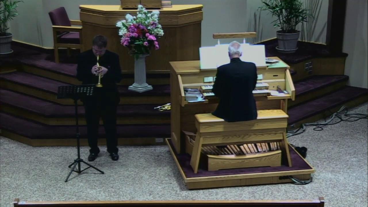 Toccata (organ & trumpet) – G. Martini