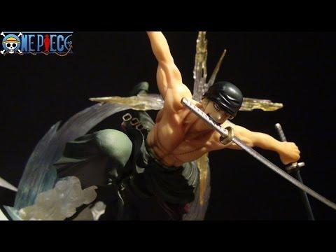 ONE PIECE FIGUART ZERO BATTLE VER. RORONOA ZORO (RENGOKU ONIGIRI) BY BANDAI