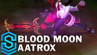 Blood Moon Aatrox Skin Spotlight - Pre-Release - League of Legends