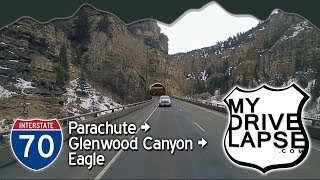 Glenwood Canyon, Colorado: on the Reverse Cam! Interstate 70