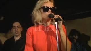 Debbie Harry (Blondie) Soundcheck Bordeline London 1989