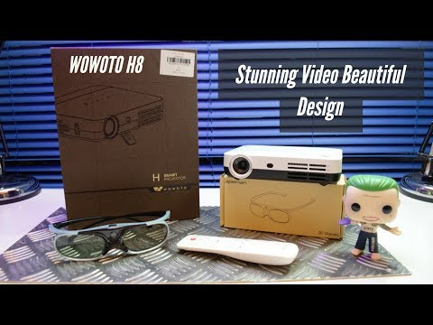 WOWOTO H8 The Full Review – Best $400 Amazon Projector 3D & Full HD