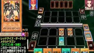 遊戯王Tag Force 5 - ドラゴン  デッキ Vs 十六夜 アキ