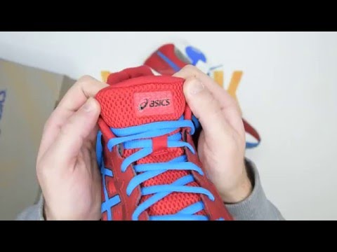 Asics Gel-Foundation 12 2E (Wide) - Red / Blue / Black - Walktall | Unboxing | Hands on