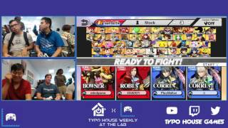 Typo @ The Lab - Fanttum/ X-Ark vs 2jxx/AbsoluteZero - Smash 4 Doubles Round Robin