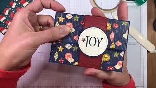 Stampin Up! So Many Stars Gift Card Holder Tutorial