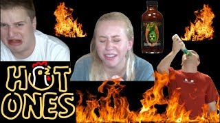 Hot Ones: College Students Have a Breakdown Eating Spicy Wings