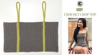 Crochet Crop Top Easy | FREE Crochet Pattern