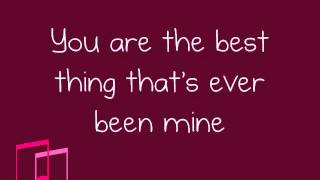 Taylor Swift- Mine (Lyrics)