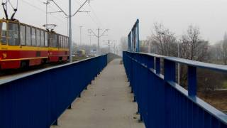 preview picture of video 'Railways of the Łódź Żabieniec Station Toshiba Camileo P 30 Full HD'