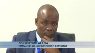 Passation de charges entre les Présidents sortant et entrant du Consortium Alafia le 03 octobre 2016 au CPILD