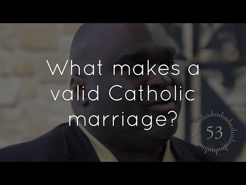 Can a marriage be valid and sacramental for a couple that is infertile?