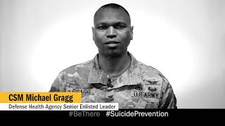 Suicide Prevention Month: A message from CSM Michael Gragg