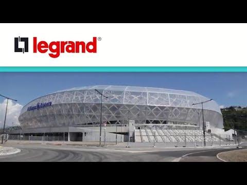La puissance Legrand au cœur du stade Allianz Riviera de Nice